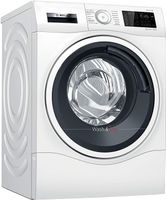 Bosch Serie 6 WDU28512, Frontlader, Freistehend, Schwarz, Weiß, Links, Drehregler, Berührung, LED