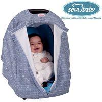 Sevibaby Jeany Sitzabdeckung Autoschale Abdeckung Baby Autositz Sonnendach 237-30