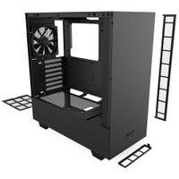 NZXT H510 - Midi ATX Tower - PC - SGCC - Stahl - Gehärtetes Glas - Schwarz - ATX,Micro ATX,Mini-ATX - 16,5 cm