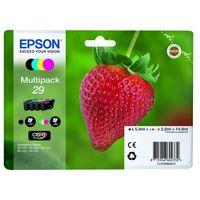 Epson Multipack 29 EasyMail - 4er-Pack - Schwarz, Gelb, Cyan, Magenta - Original - Blisterverpackung
