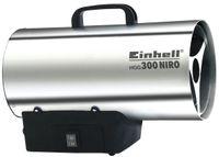 Einhell Heißluftgenerator HGG 300 Niro, Nennwärmeleistung 30 kW, Betriebsdruck max. 1,5 bar, incl. Gasschlauch und Druckregler, 2330910