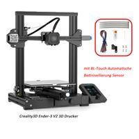 Creality 3D Ender-3 V2 3D-Drucker + 20 m PLA-Filament + BL-Touch Sensor für automatische Bettnivellierung für Ender-3 V2