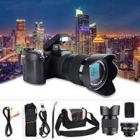 1080P 33MP Digitalkamera Digitale Spiegelreflexkamera FHD DSLR USB 2.0+24X Zoom Weitwinkelobjektiv