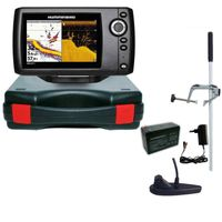 Humminbird Helix 5 DI G2 Down Imaging Echolot Portabel Master Edition Plus – Komplettsystem