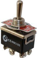 Kippschalter Schalter 2xUM EIN / AUS / EIN 10A / 6A 125V / 250V KN3C-203