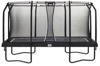 Salta Premium Black Edition - rechteckig - 244x396cm - 8x13ft - Schutzrand Schwarz - Trampoline mit hochwertigen Sicherheitsnetz