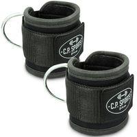 Premium Fußschlaufe - schwarz - Paar