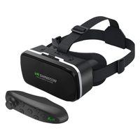 3D Brille Virtual Reality Brille 360 Filme für SmartPhone - Fernbedienung Größe Fernbedienung