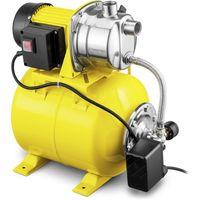 TROTEC Hauswasserwerk TGP 1025 ES Wasserpumpe 3.300 l/h Förderleistung 1.000 Watt Leistung 3 bar Förderdruck Wasserwerk Gartenpumpe Hauswasserpumpe Hauswasserautomat Pumpe