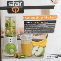 Star Q Smoothie Maker 300 Watt Weiß/Grün
