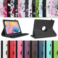 Tablet Hülle für Samsung Galaxy Tab A7 10.4 Tasche Schutz Case Cover 360 Drehbar, Farbe:Türkis