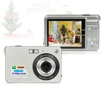 Digitalkamera mit 8x Digitalzoom Digitalkamera Geschenkkamera Digitalkamera für Kinder, 92,2x60,2x14MM, Silber