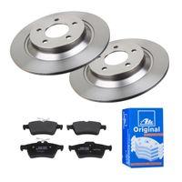 ATE | 2 Bremsscheiben Voll 302 Mm + Bremsbeläge (1420-22568) passend für , Mazda