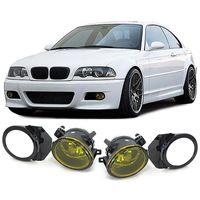 Klarglas Nebelscheinwerfer Gelb mit Halter für BMW E39 M5 95-04 E46 M3 98-05