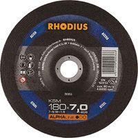 Rhodius Schleifscheibe KSM 180x7,0x22,23mm Stahl Alphaline - 200056