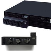 HLHBDSM USB Lüfter für Xbox One X-Konsole, Kühlsystem mit 3 Lüftern und USB-Anschluss XBOXONE X Host-dedizierter Lüfter,CPU-Kühler