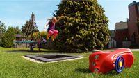 """Eurotramp Kids Tramp """"Playground Mini"""", Sprungtuch rund, Ohne Zusatzbeschichtung"""