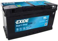 Autobatterie EXIDE 12 V 95 Ah 850 A/EN EK950 L 353mm B 175mm H 190mm NEU