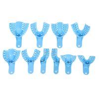 Satz von 10 STÜCKE Dental Abformlöffel Dental Supply Zahnhalter Kunststoff Zahnarzt Werkzeuge