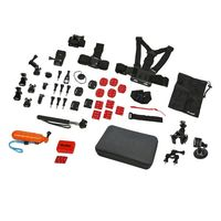 Rollei 21643, Kameraausrüstung, Universal, Universal, Schwarz, Orange, Rot, Metall, Nylon, Kunststoff