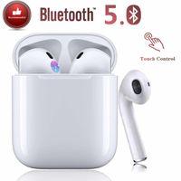 Bluetooth 5.0 Noise Cancelling Wireless Bluetooth Kopfhörer 3D Stereo IPX7 Wasserdicht Auto Pairing Wasserdicht Schnellladen für Apple / AirPods / AirPods Pro / Android / iPhone Sportkopfhörer