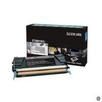 Lexmark - Hohe Ergiebigkeit - Schwarz - Original - Tonerpatrone LCCP, LRP - für X746de, 748de, 748dte