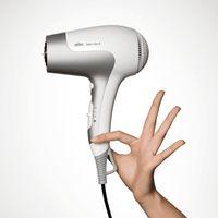 Braun Satin Hair 5 HD 580, Grau, Weiß, Hängeschlaufe, 1,8 m, 2500 W, 620 g, 100 mm