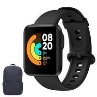 Xiaomi Mi Watch Lite Black Sport Smartwatch mit em Geschenk Xiaomi Rucksack