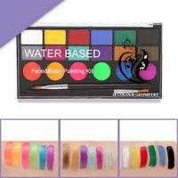 Körperfarben Gesichtsfarbe 18 Farbpalette Make Up Palette Für