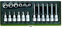 Proxxon Spezial-Steckschlüsselsatz für Vielzahnschrauben XZN 18-tlg.