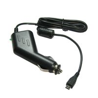 Premium Micro-USB 2A KFZ-Ladekabel 12V/24V mit TMC Antenne ersetzt 4UUC5 4UUC.001.05 4 UUC 23 für Becker Blaupunkt Falk Garmin Navigon TomTom Navigationsgerät (1,1m Länge)