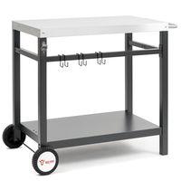 BBQ-Toro Grillwagen 85x50x81 cm | Beistelltisch Rollwagen zum Grillen