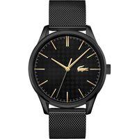 Lacoste Herren Analog Armbanduhr in Schwarz/Schwarz 2011105