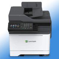 Lexmark CX522ADE Farb-Multifunktionsgerät A4, LAN, USB inkl. UHG