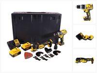 Dewalt DCD 796 P2MD Akku Schlagbohrschrauber 18 V 70 Nm Brushless + DCS 355 Akku Oszillierer 18 V Brushless + 2x Akku 5,0 Ah + Ladegerät + Maxi D-Box
