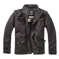 Brandit - Britannia Winter Jacket 9390-2 Black Outdoor Winterjacke Herren Army Größe XL