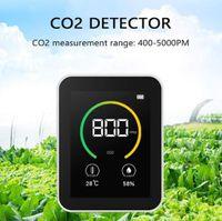 Darmowade- CO2 Messgerät Luftqualität Messgerät CO2 Kohlendioxid Detektor 400-5000PPM Messbereich Intelligenter Lufttester mit