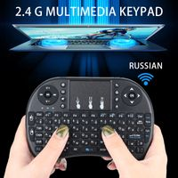 Touchpad Wireless Mouse Tragbares Touch Tablet 2,4 GHz Russische Tastatur Premium HTPC Handheld