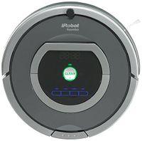 iRobot Roomba 782, Beutellos, Schwarz, Silber, Rund, 61 dB, 3 h, 35 cm