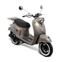 GMX 460 Retro Classic NF Edition Motorroller 25 km/h smokey Mofa.