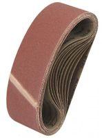 CMC Gewebe Schleifbänder 10x Korn 180 in 75x533mm
