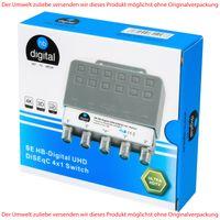 HB-DIGITAL SE UHD DiSEqC Schalter 4/1 Switch