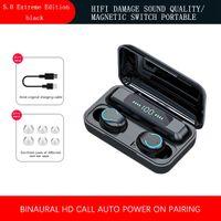 Bluetooth 5.0 Headset TWS Drahtlose Ohrh?rer Mini-Ohrh?rer Stereo-Kopfh?rer 2019