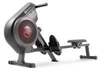 Hop-Sport Rudergerät HS-065AR Luft-Ruderzugmaschine Air Rower Ruderergometer Brustgurt kompatibel (5,3 kHz), Luft-Widerstandssystem