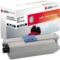 AgfaPhoto Toner APTO44973536E wie Oki 44973536 schwarz
