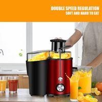 Entsafter Saftpresse Edelstahl Presse Frucht Juicer Gemüse Obstpresse Elektrische - extragroße Einfüllöffnung DHL