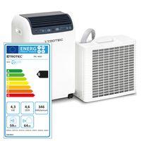 TROTEC Klimagerät PAC 4600 mobile Klimaanlage mit 4,3 kW / 14.500 btu - bauartbedingt bis zu 50% mehr Kühlleistung