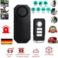 Motorrad Fahrrad Alarmanlage Wireless Fernbedienung Anti Theft Alarm