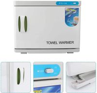 23L UV-Licht Handtuchwärmer Kompressenwärmer Sterilisator Handtuchablage Desinfektion