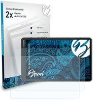 Bruni Basics-Clear 2x Schutzfolie kompatibel mit Garmin dezl LGV1000 Folie